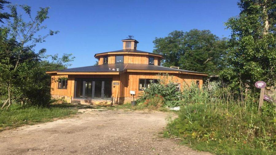 British Larch Cladding For Unique Home