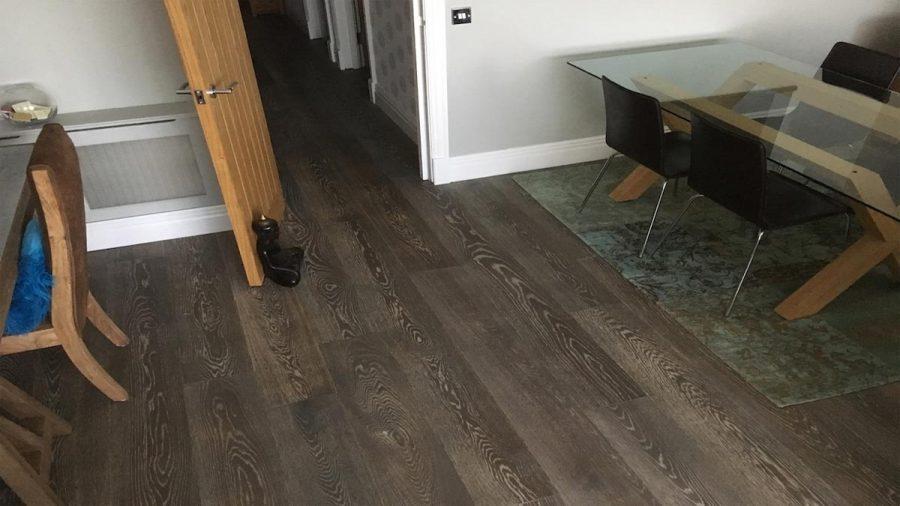 Contemporary Grey Engineered Oak Flooring