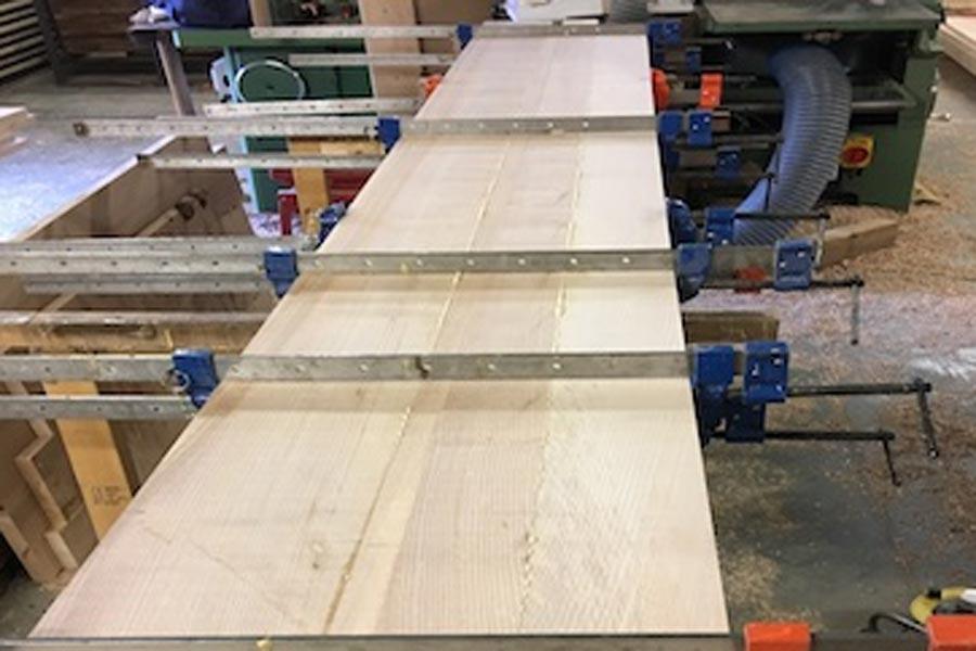 Glueing Ash Timber
