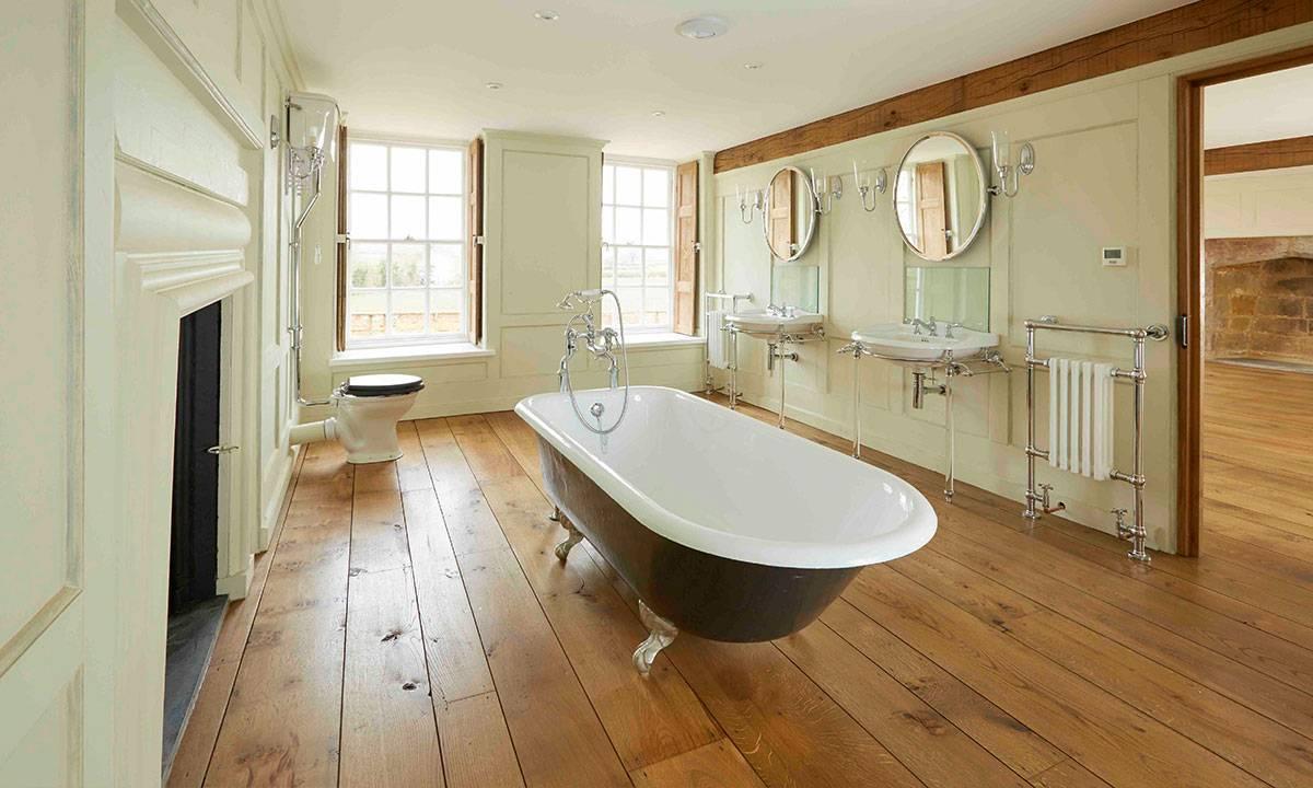 Oak floor solid