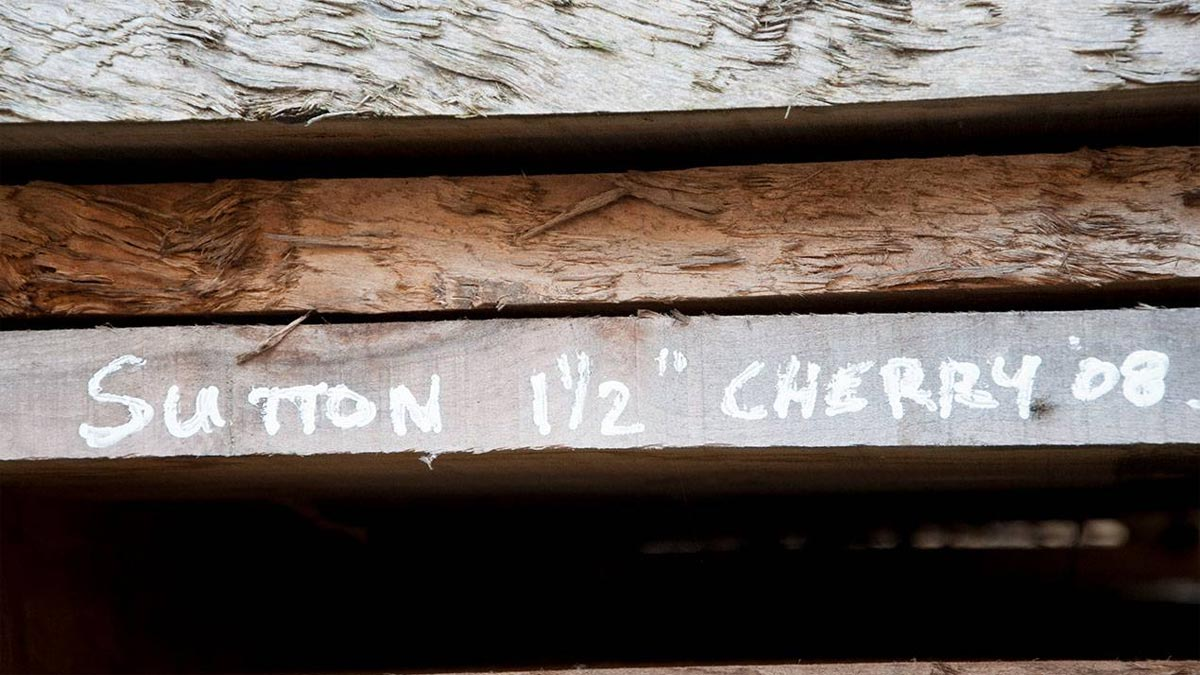 Sutton Timber Cherry Wood