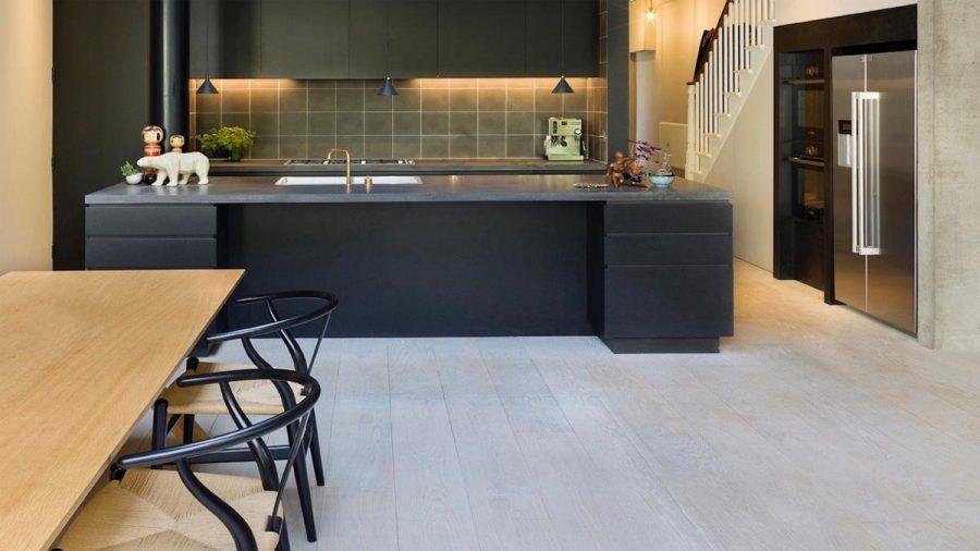 White Engineered Oak Flooring – Hackney Home